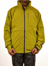 REGATTA MENS AEGIS PACKAWAY JACKET LIME/GRY WATERPROOF BREATHABLE XXL ONLY MW268