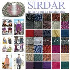 SIRDAR CLICK CHUNKY KNITTING YARN WITH WOOL - FROM 1/2 PRICE