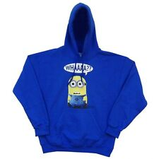 Despicable Me Minion Whaaaa Licensed Adult Hoodie S-XXL
