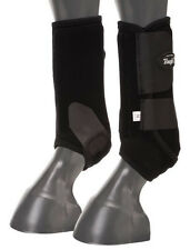 Tough 1 Extreme Vented Sport Boots BLACK FRONT ALL SIZES horse tack SMB