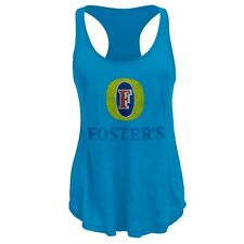 Foster's - Distressed Logo Juniors Tank Top