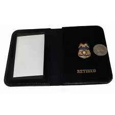 US Customs USCS Special Agent / Inspector Retired ID Wallet with Mini Badge