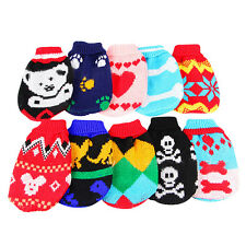 Stylish Comfortable Pet Dog Cat Clothes Coat Hoodie Sweater Knitwear Apparel New