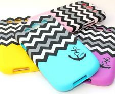 Samsung Galaxy S3 Siii - HARD SNAP ON PROTECTOR SKIN CASE COVER CHEVRON / ANCHOR