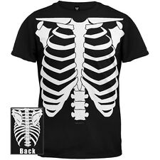 Old Glory - Mens Skeleton Glow In The Dark Costume T-Shirt