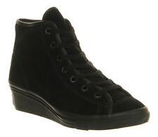 Converse All Star Hi-ness BLACK MONO SHEARLING EXCLUSIVE Trainers Shoes VH3