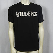 Authentic The Killers Band Classic Black Logo T-Shirt S M L XL Official NEW