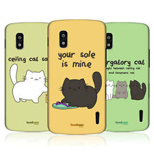 HEAD CASE CEILING CAT VS BASEMENT CAT HARD BACK CASE COVER FOR LG NEXUS 4 E960