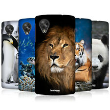 HEAD CASE WILDLIFE PROTECTIVE SNAP-ON BACK CASE COVER FOR LG GOOGLE NEXUS 5 D821