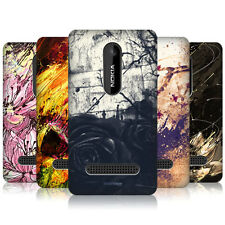 HEAD CASE FLORAL DRIPS PROTECTIVE SNAP-ON BACK CASE COVER FOR NOKIA ASHA 210
