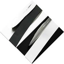 """Grosgrain Ribbon 13mm 1/2"""" by 4 meters white s Grey s Black s for cake"""