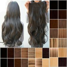 "17""-27"" Long Clip in Synthetic Women Hair Extensions Straight Wavy Curly Hair n2"