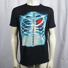 Authentic RED HOT CHILI PEPPERS X Ray Asterisk Logo T-Shirt S- XXL Official NEW