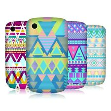 HEAD CASE CANDY TRIBAL SNAP-ON BACK CASE COVER FOR BLACKBERRY CURVE 8520 9300 3G