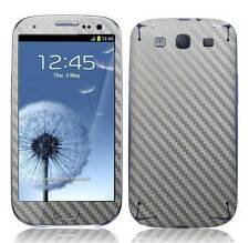 Carbon Fibre Skin Sticker Vinyl Decal Full Body Wrap for Samsung Galaxy S3 I9300