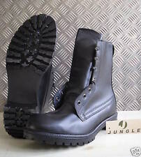 Genuine British Army, Black Leather Combat / Assault Boots - All sizes Unissued