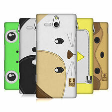 HEAD CASE DESIGNS ANIMAL PATCHES SERIES 1 CASE COVER FOR SONY XPERIA U ST25i