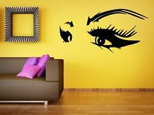 Women Seductive Eyes - Amazing Wall Decoration Wall Sticker. Many colours. New!
