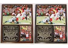 Tony Gonzalez #88 Atlanta Falcons 2009-13 Tight End Photo Plaque