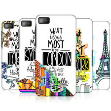 HEAD CASE CITY LOVE PROTECTIVE SNAP-ON HARD BACK CASE COVER FOR BLACKBERRY Z10