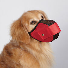 FABRIC MESH DOG MUZZLES - Comfortable Soft Muzzle NEW
