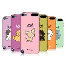 HEAD CASE DESIGNS HAPPY PUPPIES CASE COVER FOR APPLE iPOD TOUCH 5G 5TH GEN