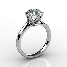 GIA certified 0.71 carat G/VVS1 Natural Round Diamond Solitaire Engagement Ring