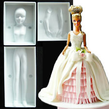 Various Fondant Cake Pastry Decorating 3D Barbie Doll BABY Soap Chocolate Molds