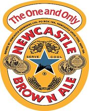 NEWCASTLE BROWN ALE Sticker Decal Vinyl *DIFFERENT SIZES* Beer Bumper Bar