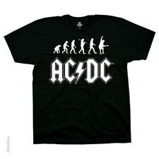 New AC/DC Rock Evolution T Shirt