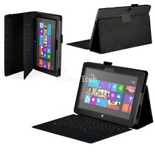 Folio PU Leather Stand Case Cover For Microsoft Surface 2 Surface RT 10.6 inch