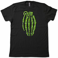 "COOL Skeleton ""Hand"" Grenade T-SHIRT! Pinkman Breaking Bad Tee"