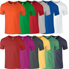 Gildan Softstyle Ringspun Cotton T Shirt Casual Leisure Sport GD001 34 Colours