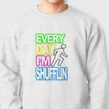 Everyday Im Shufflin Rock Party Band T-shirt Concert Tour LMFAO Crew Sweatshirt