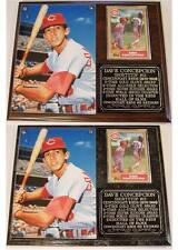Dave Concepcion #13 Cincinnati Reds 2-Time World Series Champ Photo Card Plaque