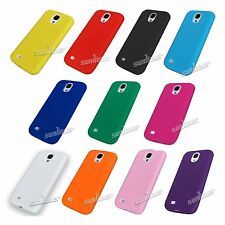 Gel Silicone Skin Case Cover for Samsung Galaxy S4 S IV,i9500 +Screen Protector