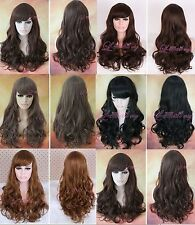 60cm long Lolita sweet curly wavy fashion women synthetic Wig collection FL05