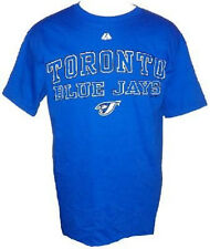 Toronto Blue Jays Shirt Men's Home Team Baseball Tee Royal Majestic