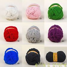 Wholesale 3.53oz/100g Skein Soft Skein Sheep Wool Scarf Knitting Yarn ,Worsted