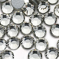 1x 144-1440PCS 1.3-8.7MM Crystal Flatback Rhinestone For Nail Art/Phone/Clothing