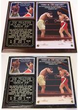 Joe Frazier Heavyweight Champion Boxing Hall of Fame Photo Plaque