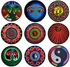 New Embroidered Iron On Patch Motif Applique Decal Embroidery Nepal design