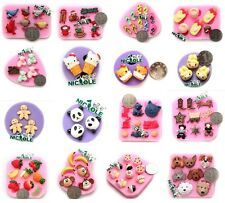 Newest Mini Cake Flower Animal Silicone Mould for Polymer Clay Candy Ice Fondant