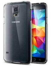 NEW ULTRA THIN CLEAR SILICONE SOFT GEL CASE COVER SCREEN FOR SAMSUNG GALAXY S5