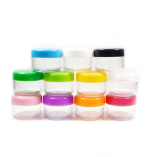 Multicolor Eyeshadow Cosmetic Container Bottle Makeup Face Cream Travel Pot