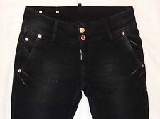 New Women ELASTIC jeans DSQUARED 2 * Lady DSQ black  jeans * CLOSE OUT SALE!