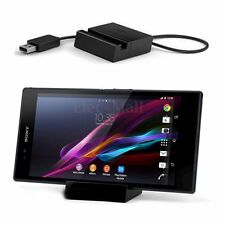 Magnetic Desktop Charging Dock Charger USB Cradle For Sony Xperia Z1 Ultra L39H