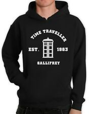 Doctor 50th Anniversary Kapuzenpullover Hoodie Who Call the Dr PHONE BOOTH GEEK