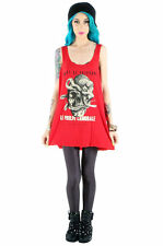 IRON FIST SIT ON MY FACE RED WOMEN TANK DRESS US SIZES