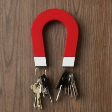 U-shaped Magnetic Key Holder - Wall-mountable With Magnetic Tips
